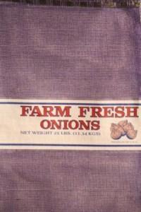 Farm Fresh Leno Mesh Onion Bag